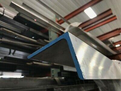 "Aluminum Angle 6063 T52 1//2/"" x 1//2/"" x 1//8/"" wall x 60/"""