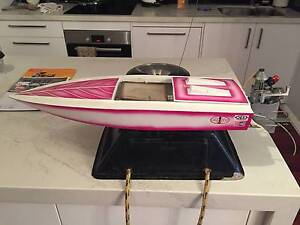 Vintage mono with K&B 3.5 outboard Rc Boat Toorak Stonnington Area Preview