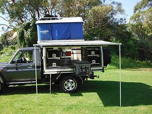 Ute Canopy Camper With Roof Tent Mona Vale Pittwater Area Preview