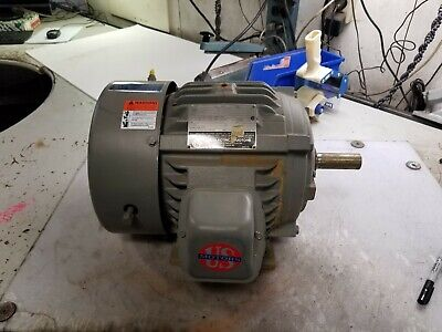 New Us Motors 3 Hp Ac Electric Motor 460 Vac 1765 Rpm 213 Frame 3 Phase