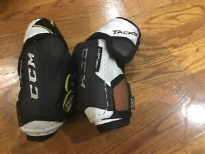 CCM Super Tacks Youth Elbow Pads size Junior L