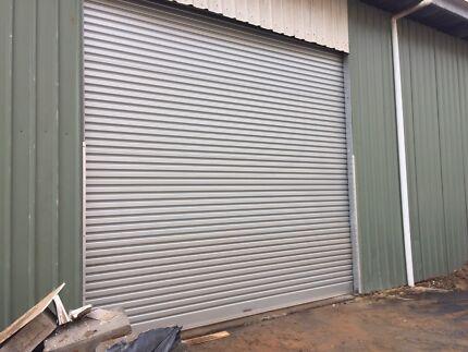 Roller Door as New. Industrial