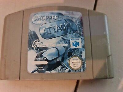 Nintendo 64 N64 - Chopper Attack - Cartridge Only