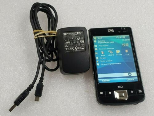 HP iPAQ 210 Enterprise Handheld PDA Pocket PC Win 6 624MHz FB040AA#ABA