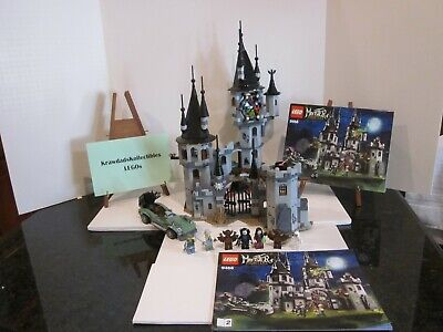 LEGO MONSTER FIGHTERS 9468 VAMPYRE CASTLE VAMPIRE COMPLETE W/ MINIFIGS & MANUALS