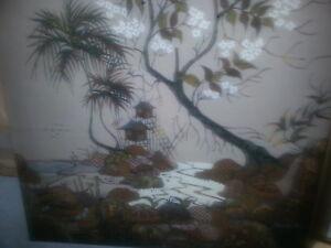 Original Batik Painting by Astuti Famous Indonesian Artist