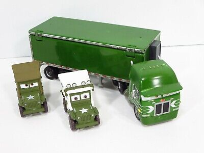 Disney Pixar Cars Gil Green Hauler Semi Truck Nice