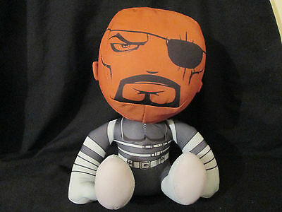 MARVEL AVENGERS - NICK FURY Large Plush / Soft Toy NEW WITH TAG! OFFICIAL