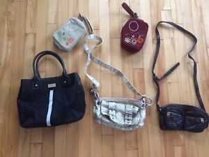 Purses and Fossil Wallet