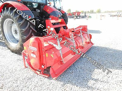Rotary Tiller Heavy Duty Maschio Sc250 103 Tractor 3-pt Pto 170hp Gearbox