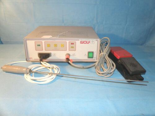Wolf 2270 Litho Lithotriptor & Transducer probe, footswitch