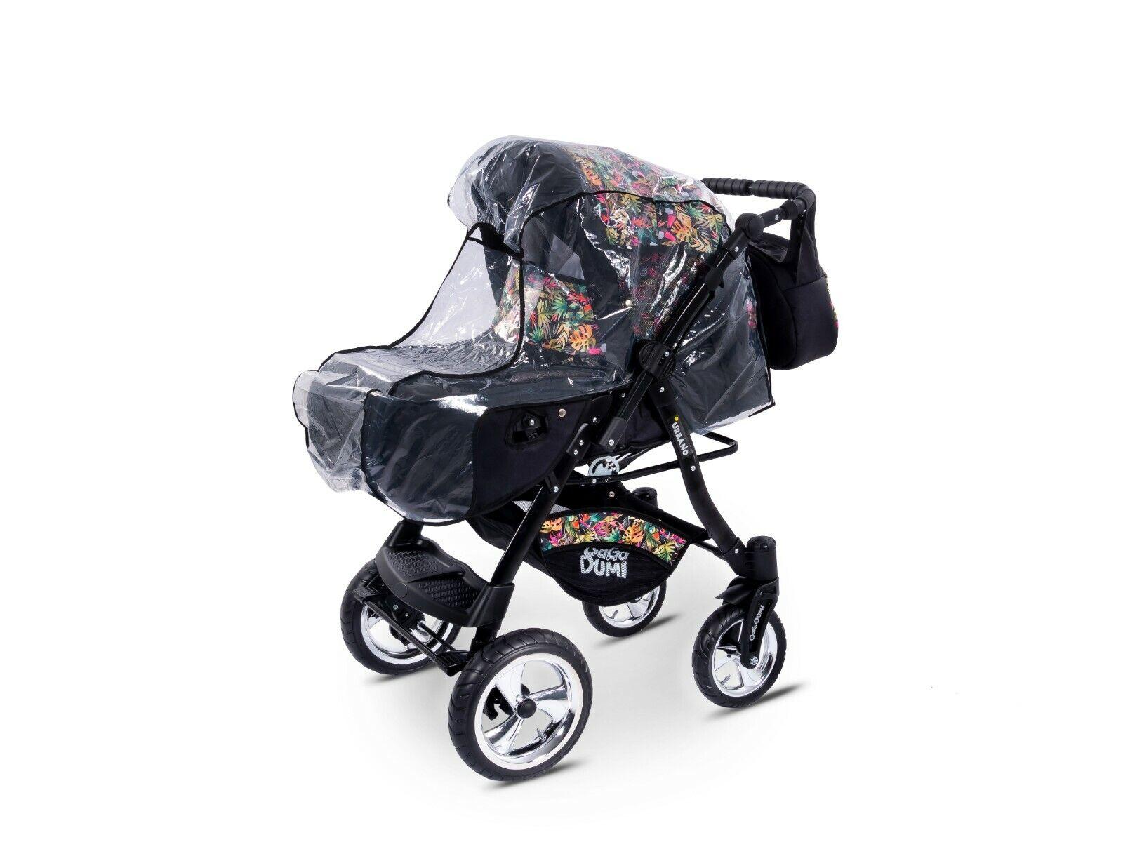 Urbano  Kombikinderwagen 3in1 Kinderwagen Babyschale 3in1 System Autositz