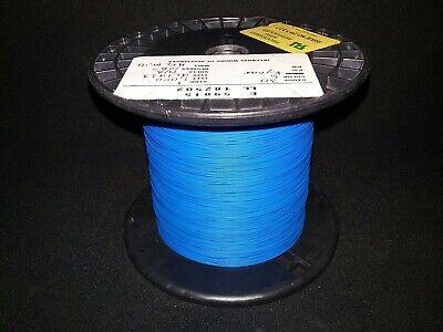 30 Awg Solid Kynar Wire Ul1423 Blue 1000 Ft Spool