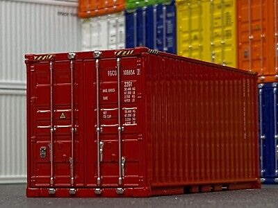 1/64 DCP RED SHIPPING CONTAINER UNIT