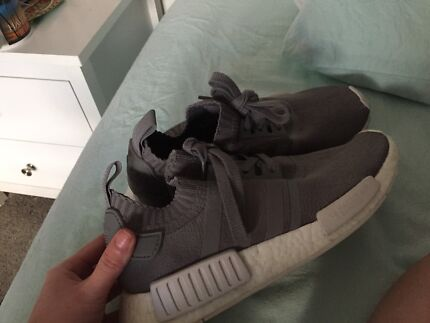 Unisex Grey Knit NMD R1 Theodore Tuggeranong Preview