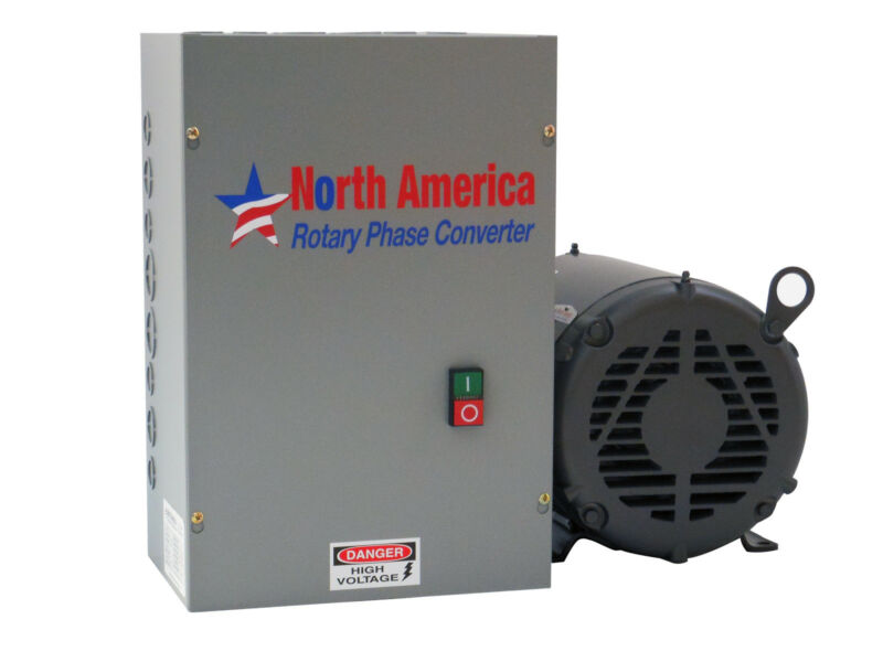 UL-20 Pro-Line 20HP UL Listed Rotary Phase Converter - NEW - Made in USA