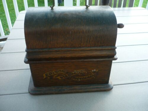 Edison Standard  Cylinder Phonograph Working,   free shipping