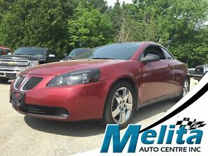 2008 Pontiac G6 GT, fully leather, hard top