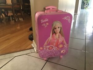 BARELY USED Barbie suitcase!!