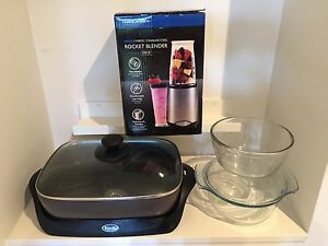 Kitchen starter set $20 - brand new - electric frying pan - blender Ascot Brisbane North East Preview