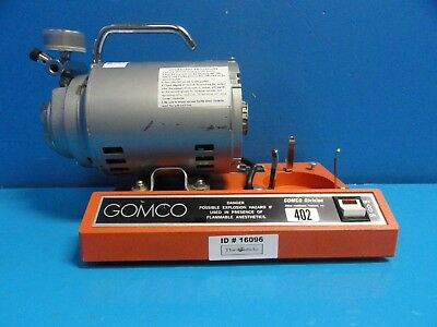 Allied Healthcare Gomco 402 Aspiratorvacuum Pump Table Top Suction Pump16096