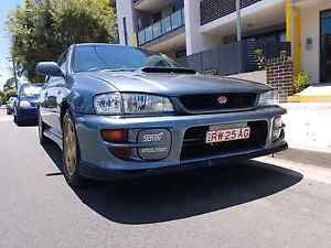 subaru wrx sti gc8 Georges Hall Bankstown Area Preview