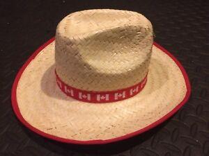 Canada Flags Straw Cowboy Hat