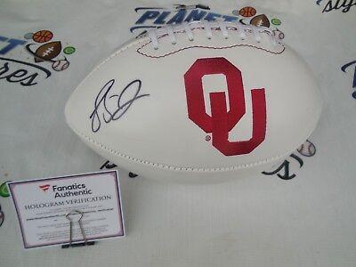 Landry Jones signed Oklahoma Sooners OU football FanaticsCOA Pittsburgh  Steelers 218103d91