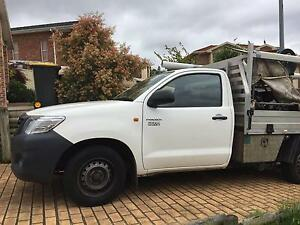 TOYOTA 2012 Hi-Lux Truck - Fully equipped for Plumber Kearns Campbelltown Area Preview
