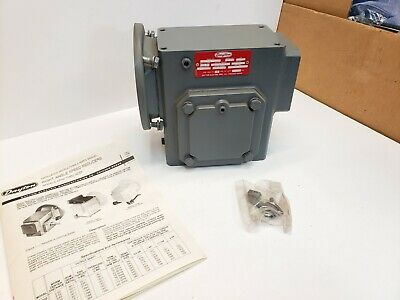 New Dayton 4z734 Gear Reducer Speed Reducer 60-1 Ratio Overhung Load 1300 Lb