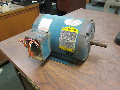Baldor Ac Motor M3157t 2hp 1800rpm Fr145t 208-230460v 5.9-5.62.8a Used