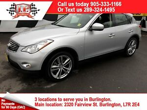 2015 Infiniti QX50 Automatic, Navigation, Leather, Sunroof, AWD