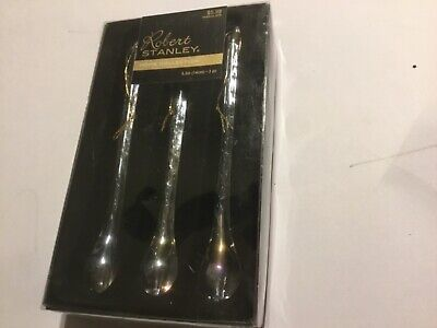 Robert Stanley Fragile Crystal Clear Glass Tear Drop Icicles Ornaments (1) NEW (Crystal Stanley)