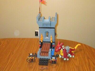 "HTF Lego Duplo ""CASTLE DRAGON TOWER"" Set #4776- Dragon-Knights-Draw Bridge"