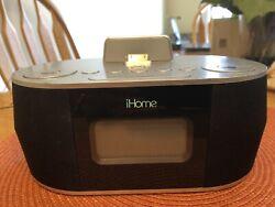 iHome Dual Charge Plus FM Radio, Alarm Clock, iPhone, iPad, iPod iDN38