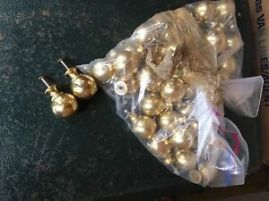 Bag of solid brass knobs
