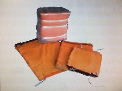 100 Raschelsäcke mit Zugband,Brennholz Säcke ,Kartoffelsäcke 25 kg