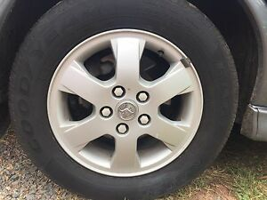 Holden rims and tyres Clarence Town Dungog Area Preview