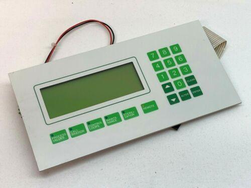 Sartorius Stedim B Braun Biostat C Bioreactor Operating Panel Keyboard Screen