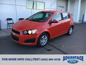 2012 Chevrolet Sonic LS Accident-Free.
