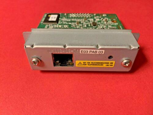 EPSON M252A UB-E03 PAB 03 Ethernet Interface Card for Receipt TM Printers