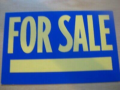 1960's Cardboard NOS Sign *For Sale* Vintage Old Store Sign Auto Sales etc.