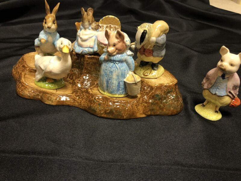 beatrix potter figurines beswick