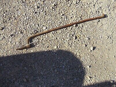 Oliver Super 77 Diesel Tractor 77d Clutch Pedal Linkage Control Rod