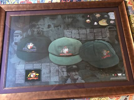 History of Baggy Green autographed by Steve Wauh