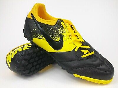 11f4f9079 Nike Mens Rare Nike5 Bomba TF 415130-707 Yellow Black Indoor Shoes Size 11.5
