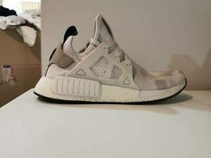 "ADIDAS NMD XR1 ""DUCK CAMO"" WHITE BA7233 US MENS SZ"