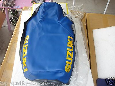 Suzuki RM80S RM80 RM 80 1986-1995 Brand New Best Quality blue Seat Cover (Best Seat Cover Brand)
