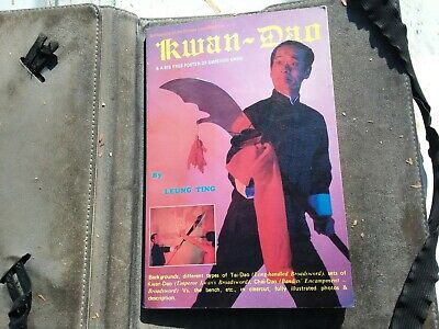 """Vintage Book """"Kwan-Dao"""" Chinese Long Weapon 1st Ed Asian Culture Martial Arts"""