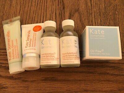 Kate Somerville ExfoliKate and Oil Free Moisturiser Bundle Travel Sizes
